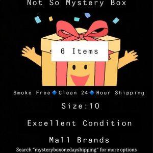 Mystery box size 10